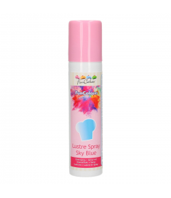 FunCakes FunColours Metallic Spray -Sky Blue- 100ml