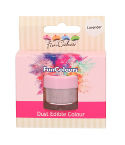 FunCakes Edible FunColours Dust - Lavender