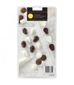 Wilton Molde para Candy o Choco, Mini Calaveras
