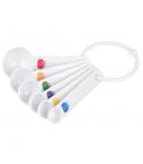 Tala Cucharas Medidoras de Plástico, 6 u
