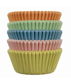 PME Mini Cápsulas para Hornear, Colores Pastel 100u.