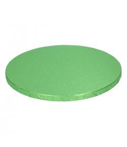 FunCakes Base para Tartas Redonda, Verde Claro 30,5cm. 12mm.