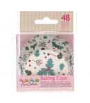 FunCakes Cápsulas para Hornear -Holly Leaf- 48u