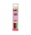 FunCakes FunColours Brush Food Pen Black-Red-Green Set/3