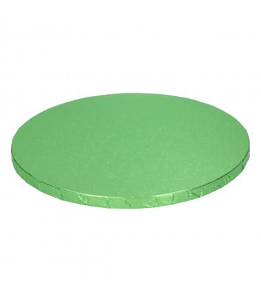 FunCakes Cake Drum Base Redonda Ø25cm -Verde Claro-