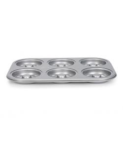 Patisse Silver-Top Molde Donut 6 Cavidades
