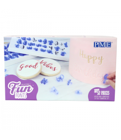 PME Fun Fonts - Letras Colección 1