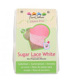 FunCakes Preparado para Encaje Blanco Sin Gluten - 400g