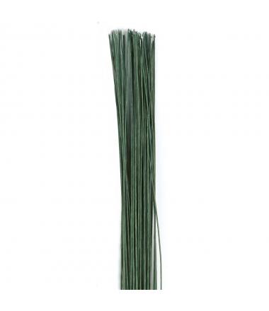 Culpitt Alambre Floral Verde Oscuro set/50 - calibre 26