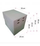 """Caja Para Tarta 4 Alturas 35 X 25 X 20/22/25/28 (10"""")"""
