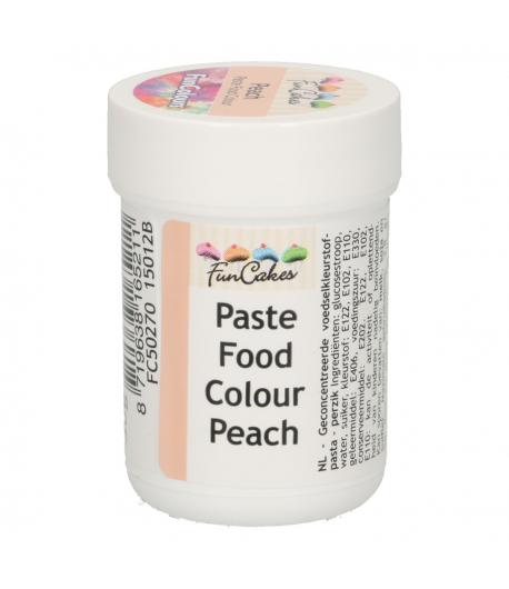 FunCakes FunColours Colorante en Pasta - Melocotón 30g