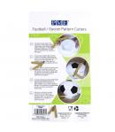 PME Cortadores para Tarta Fútbol Set/4