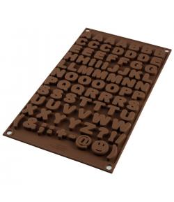 Silikomart Molde Chocolate Choco ABC