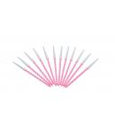 Pack 12 velas espiral color rosa