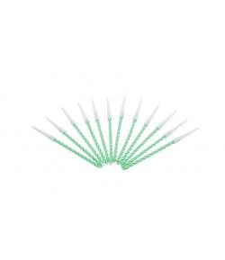 Velas espiral color verde, 12u