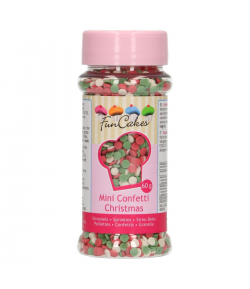 FunCakes Mini Confeti Navidad 60g