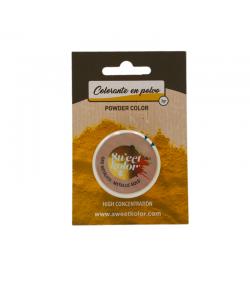 Colorante En Polvo Concentrado Pastkolor - Oro Metálico 3 G