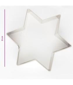 Cortador, Estrella 8cm.