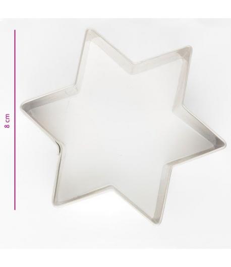 Cortador de Galleta Estrella 8 cm