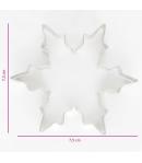 Cortador Galletas Cristal de Hielo Ø7,5 cm
