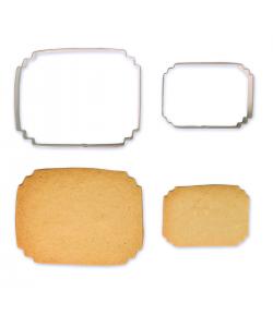 PME Placa de galletas y pasteles estilo 7 juego/2