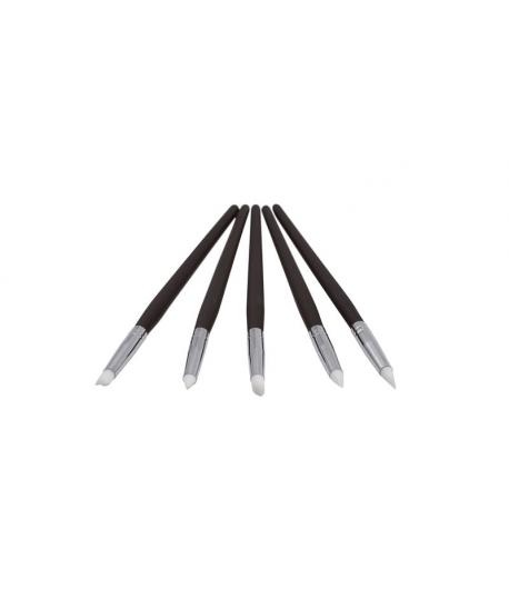 Pinceles De Silicona Para Modelaje