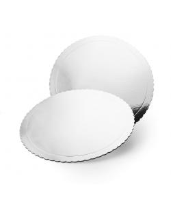 Base Redonda Efecto Espejo - 25 cm / 3 mm Grosor