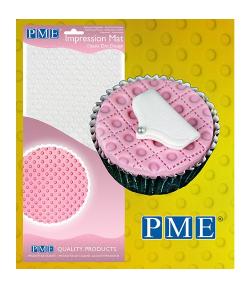 PME Tapete de Impresión de Lunares
