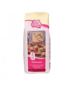 FunCakes Preparado para Crema Mantequilla (Buttercream) 1kg.