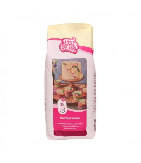 FunCakes Mezcla para Crema de Mantequilla (Buttercream), 1kg