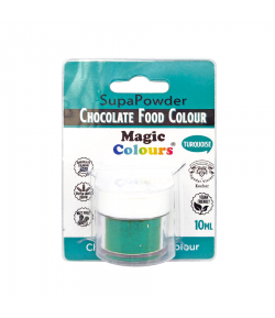 Colorante En Polvo Para Chocolate Magic Colours Turquesa - 10 ml