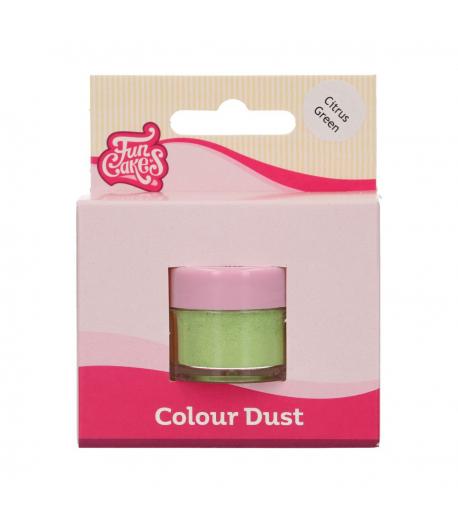 FunCakes Colorante en Polvo FunColours Dust - Citrus Green