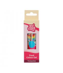 FunCakes Colorante en Gel, Turquesa 30g, FunColours