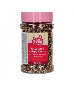 FunCakes Chocolate Mini Crispy Pearls Mix 175g.