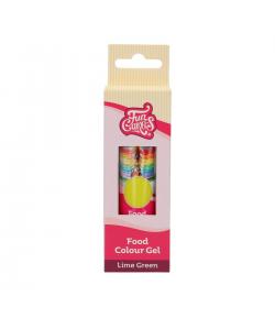 FunCakes Colorante en Gel, Lime Green 30g, FunColours