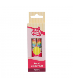 FunCakes Colorante en Gel, Amarillo 30g, FunColours