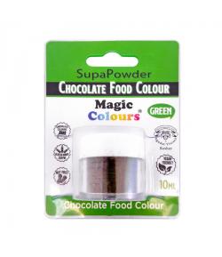 Magic Colours Colorante En Polvo Para Chocolate, Verde 10 ml