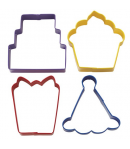 Wilton Cortadores Galletas Fiesta Set/4