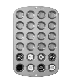 Wilton Recipe Right® Molde Mini Muffins, 24 cavidades