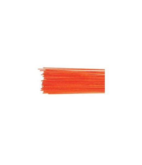 Culpitt Alambre Floral Rojo Metálico set/50 -Calibre 24