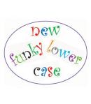 FMM Cortadores Tappit, Letras Minúsculas y Números Funky set/4