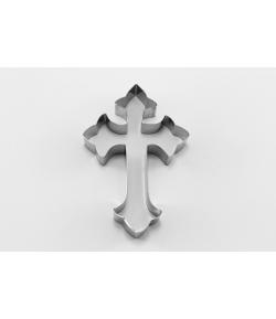 Cortador, Cruz Gótica 10x6,5cm.